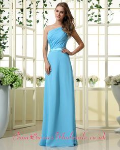 Sky blue bridesmaid dresses on Pinterest | Blue Bridesmaid Dresses ...