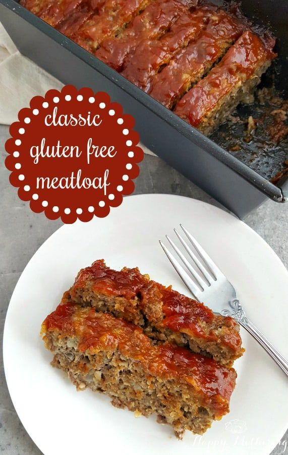 Mouthwatering Classic Gluten Free Meatloaf images