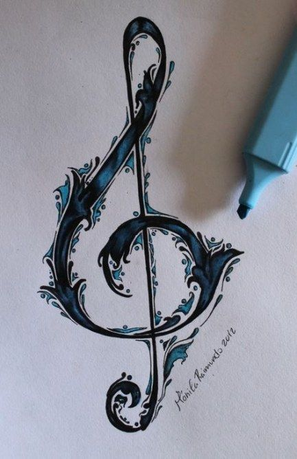 Photo of 57 great ideas for tattoo ideas music design color