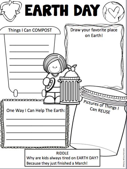 Earth Day Activities: Grades K-2 (Low Teacher Prep