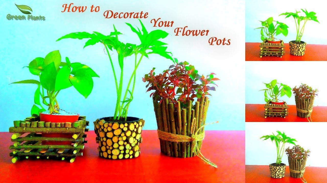 How To Decorate Your Small Flower Pots Pots Decoration Ideas Garden Small Flower Pots Flower Pots Decorative Pots