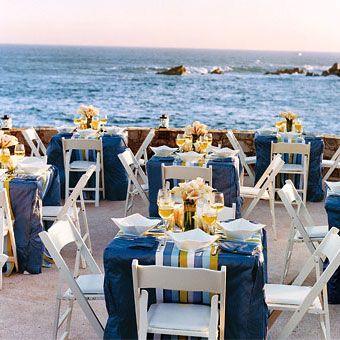 Intimate blue and yellow seaside decor seaside decor beautiful intimate blue and yellow seaside decor junglespirit Images