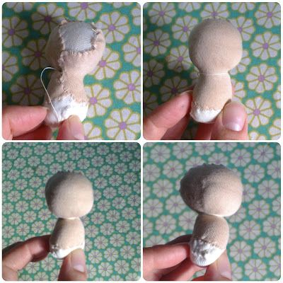 b Bear: DIY - Doll. Part first