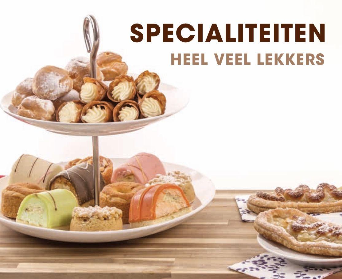 Wonderbaarlijk Kleine gebakjes en zoete hapjes voor op mooie schalen tijdens jouw BN-92