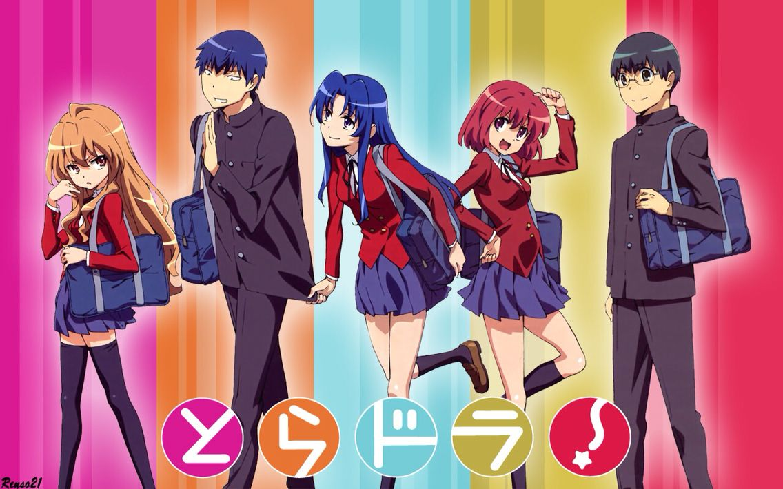 Toradora Toradora Anime Romance Female Anime