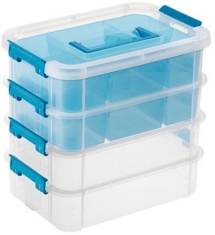Sterilite®; Stacking Caddy Organizer - Clear