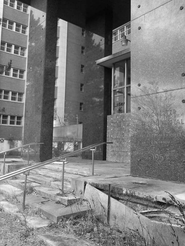 #abandoned Terrance Building ( Rochester Psychiatric Center ) #asylum