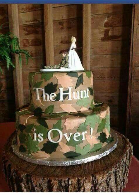 Hunting Military Saw This And Just Had Share It Country Wedding Cakes Funny Grooms Cake Camo Wedding Cakes