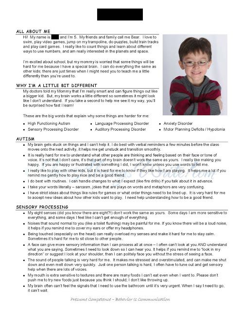 Special Needs Caregiver Sample Resume Getting To Know You Special Needs Student Resume  I Would Love It .