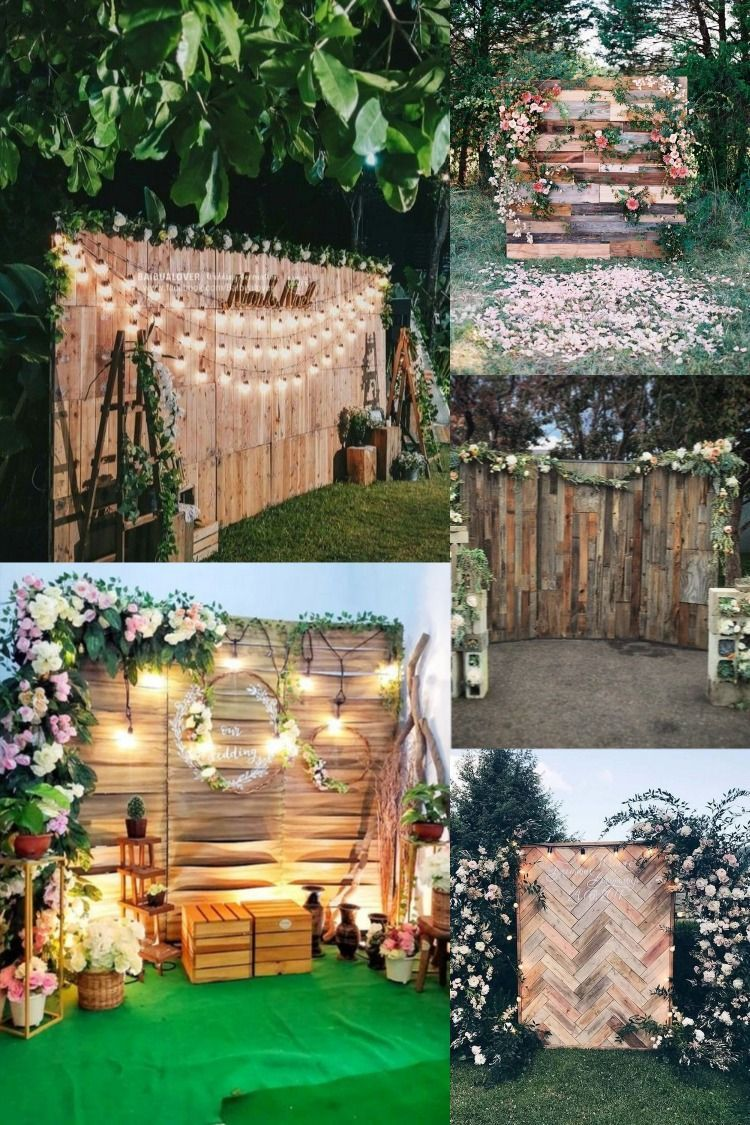 24 Rustic Country Wood Pallet Wedding Ideas rustic wooden ...