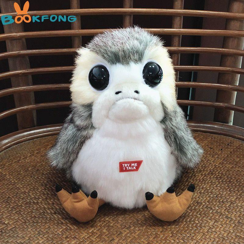Star Wars The Last Jedi Huge Deformed Soft Plush Porg Bird Toy Stuffed Doll Gift