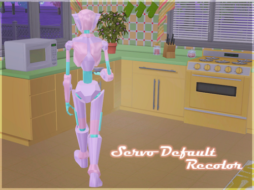 Servo Default Replacement Recolor by berrynoobos via tumblr