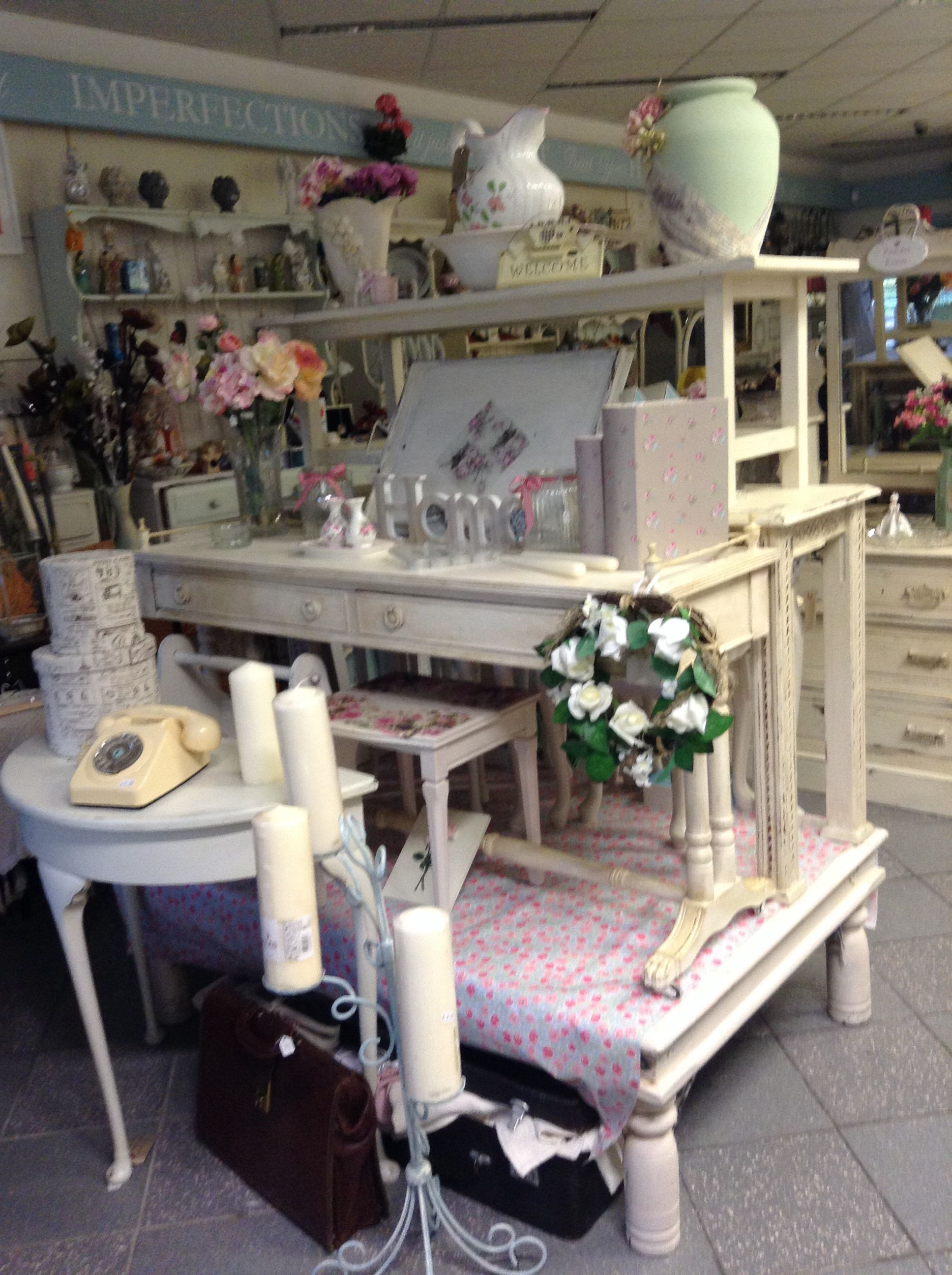Some of our gorgeous pieces up cycled  using our fantastic chalk powder for painting furniture @ serendipityathome.com