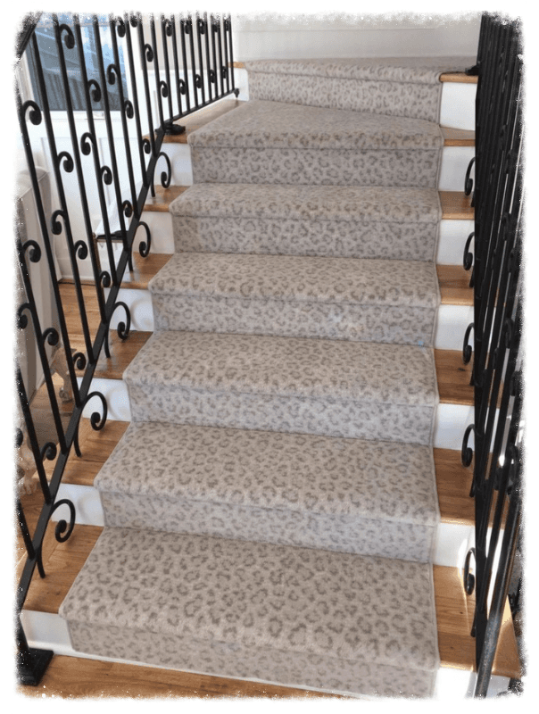 Best Kenya Snow Leopard Stair Runner Carpet Stair Runner 400 x 300