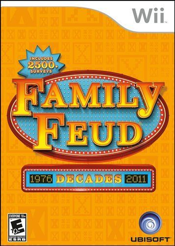 Family Feud Decades Nintendo Wii Click Image For More Details