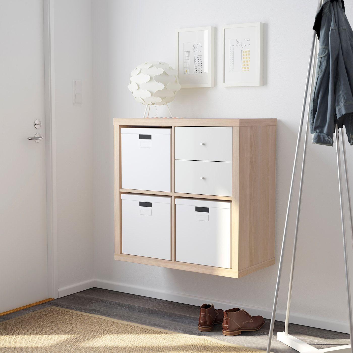 Kallax Regal Eicheneff Wlas Ikea Deutschland In 2020 Kallax