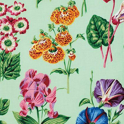 Snow Leopard Designs - Botanical - Floral Sprays - Green