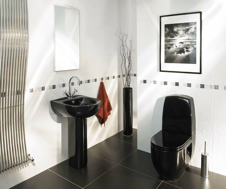 Modernes Wc décoration wc toilette 50 idées originales wc toilette idées