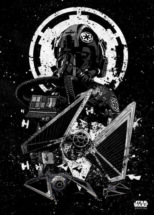 Star Wars Pilots Displate Posters