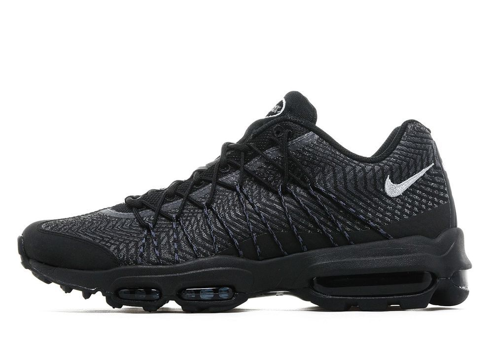 Details about NIKE AIR MAX 95 **ULTRA JACQUARD BLACKSILVER