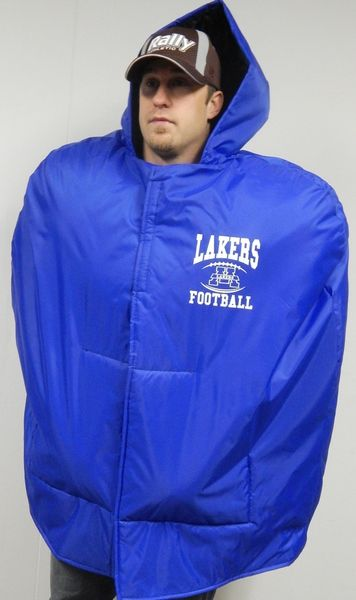Rally Athletic Custom Athletic Bags Apparel Sideline Capes And Rain Jackets Rain Jacket Jackets Sideline