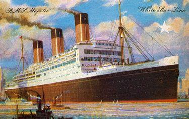 List Of White Star Line Ships