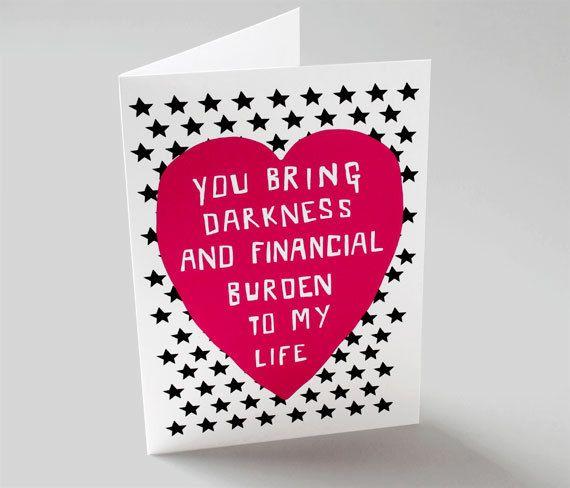Valentines Birthday Card Goalblockety
