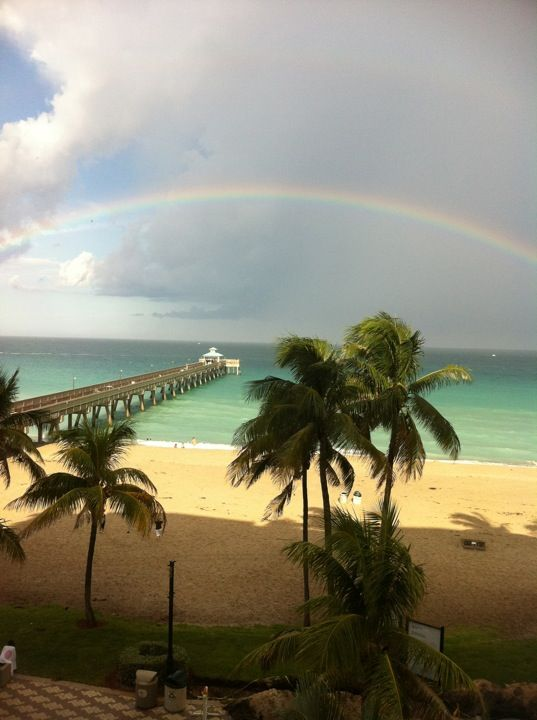 Deerfield Beach Pier In Fl Went Fishing Off One Morning