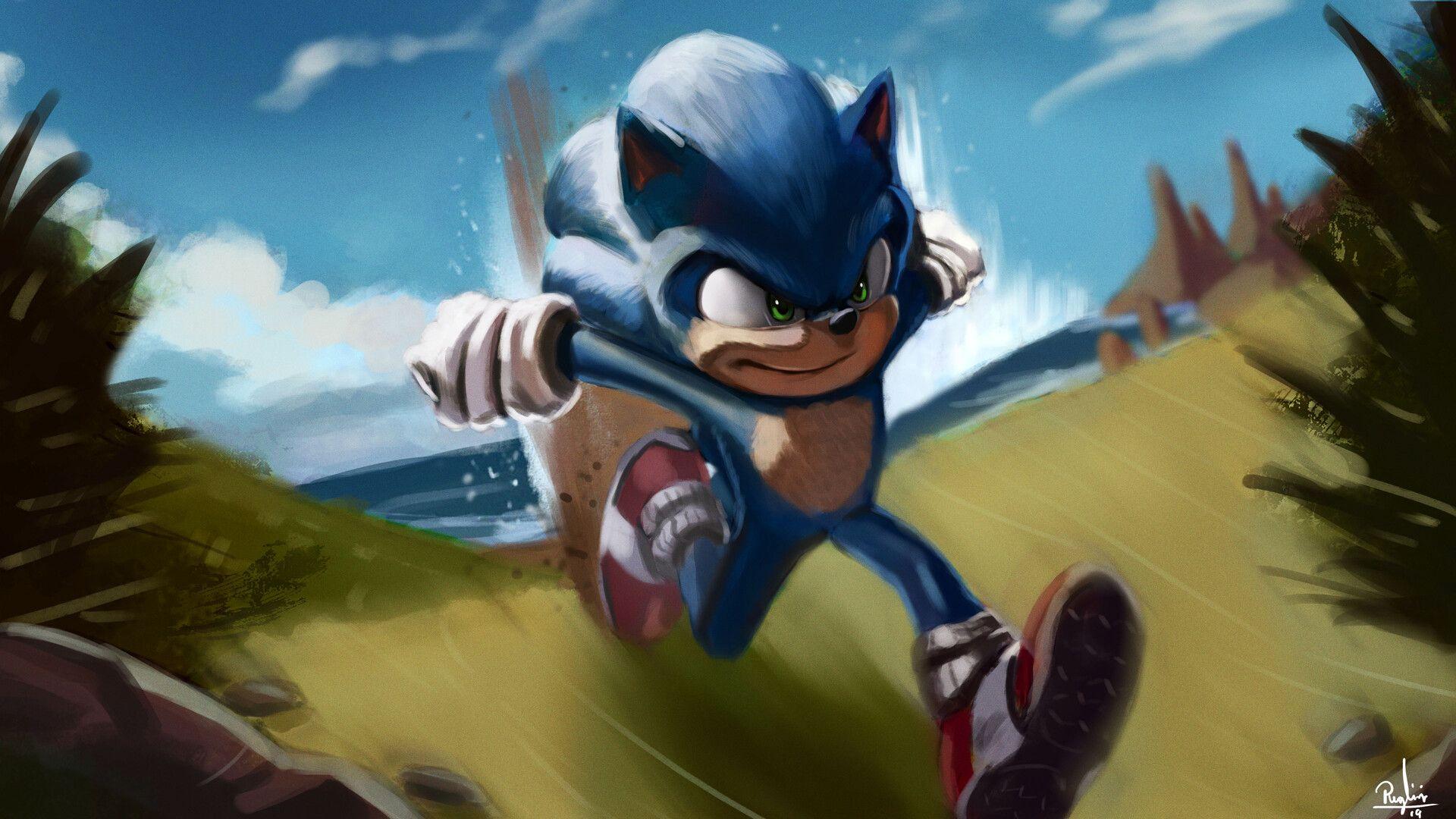 Artstation Sonic The Hedgehog Pedro Puglisi Sonic The Hedgehog Sonic Sonic The Movie