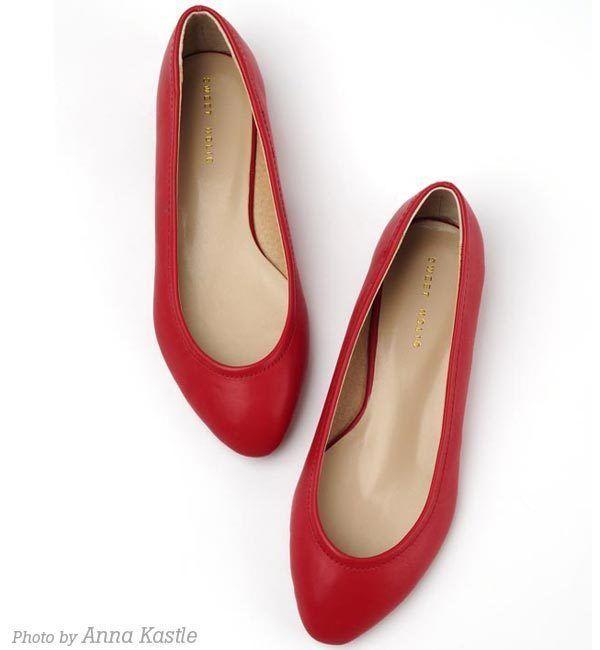 Almond Toe Comfort Ballet Flat Shoes