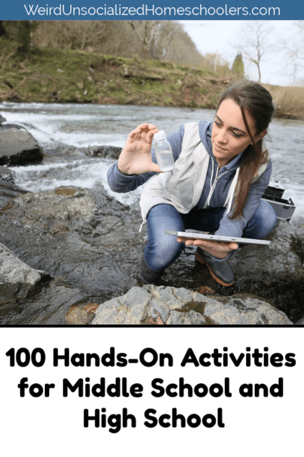 100 Hands-On Activities for Middle School and High School #sciencehistory