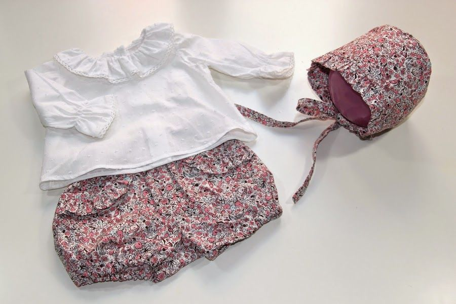 Aprende con este tutorial a coser una capota para niña | puntadas ...