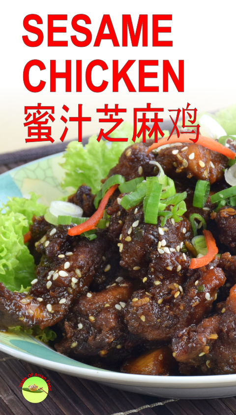 Sesame Chicken With Honey Recipe Healthy Chinese Recipes Easy Chinese Recipes Healthy Recipes