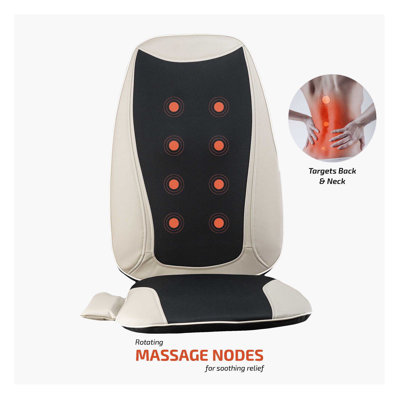 Belmint Seat Cushion Massager With Shiatsu Vibration And Heat Walmart Com Cushions Shiatsu Seat Cushions