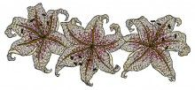 Royal Lilies - Machine Embroidery Designs