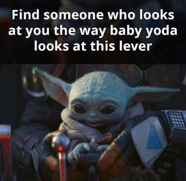 Letisia On Twitter Yoda Funny Yoda Meme Star Wars Memes
