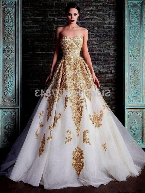 Image Result For Blue And Gold Wedding Dress