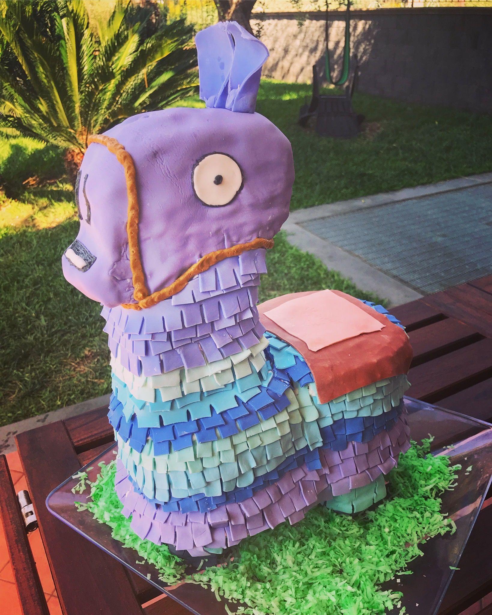 Fortnite llama cake tasteandseecakes taste and see no