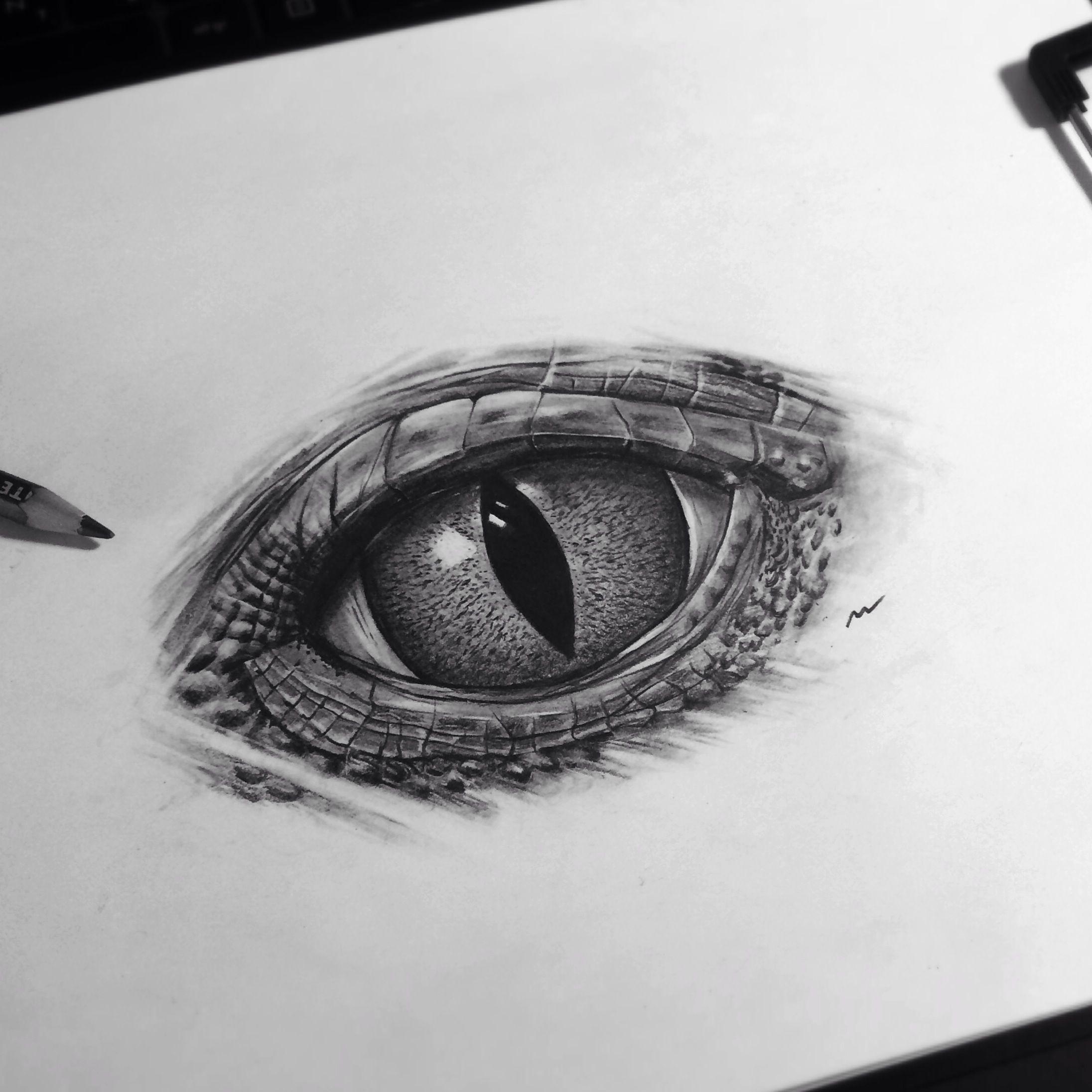 New realistic eye !reptile reptileeye art artwork