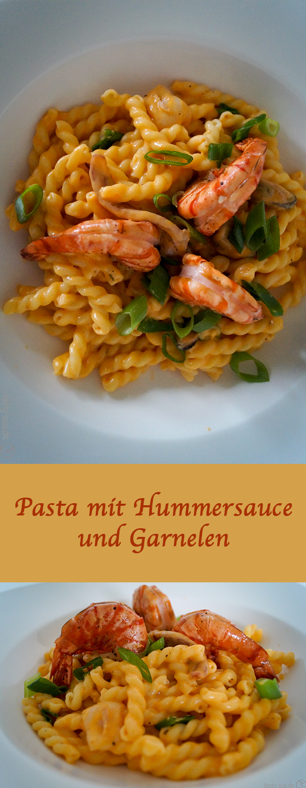 pasta mit hummersauce und garnelen world recipes pinterest nudelgerichte italiener und. Black Bedroom Furniture Sets. Home Design Ideas