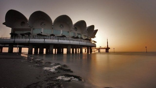 Lignano Sabbiadoro al tramonto... Vicino a Udine | L\' Italia nel ...