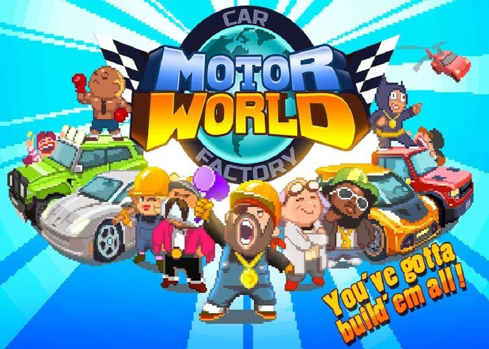 Motor world car factory money mod download apk small