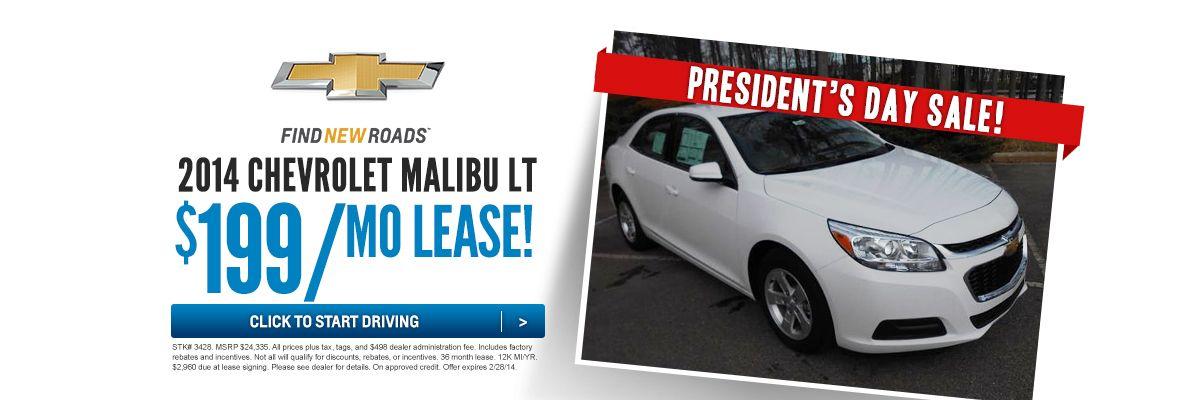 Presidents Day Sale Malibu Lt Chevrolet Malibu