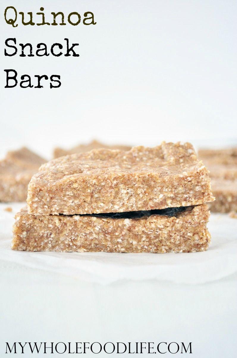 Super Healthy Quinoa Granola Bars No Bake Vegan Gluten And
