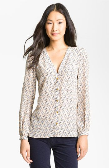 I WANT!!! Tory Burch 'Jayden' Blouse available at #Nordstrom