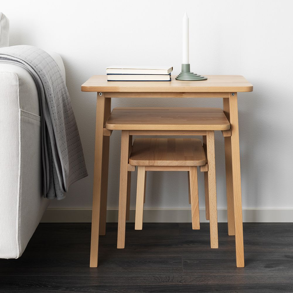 Couchtisch Ypperlig Ypperlig Nesting Tables In 2019 Furniture Ikea Ypperlig Ikea