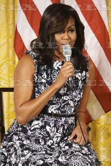 Third annual Beating the Odds Summit at the White House, Washington D.C, USA - 19 Jul 2016  First Lady Michelle Obama answering a question posed to her  19 Jul 2016