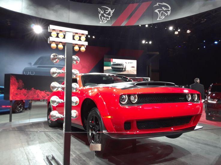 2018 New York International Auto Show Dodge Demon Jeep Car