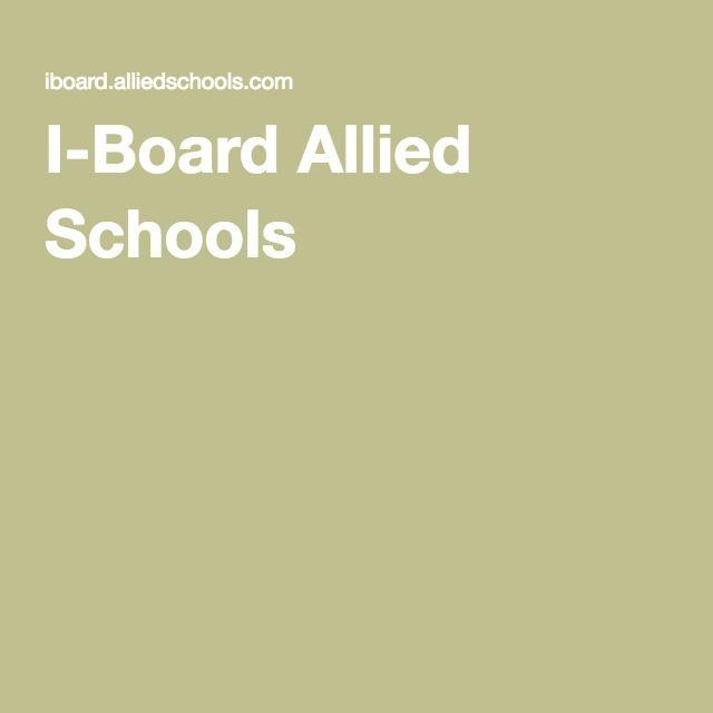 I-Board Allied Schools