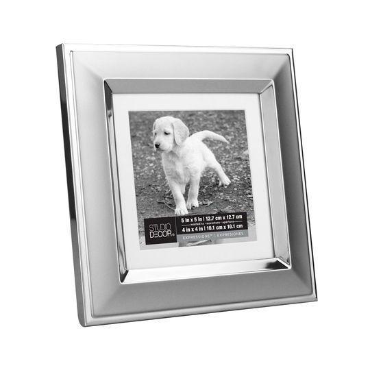 Studio Decor Silver Two-Tone Frame, 5\